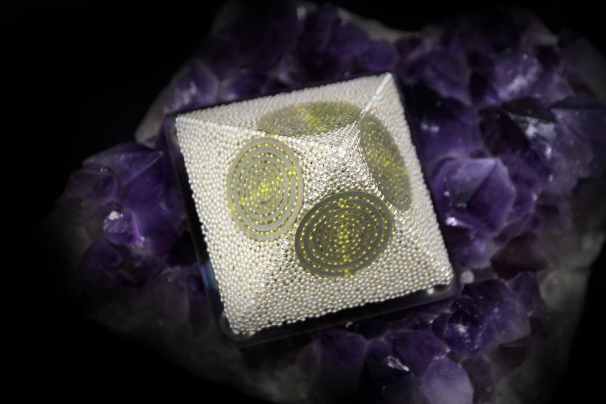 Silver Pyramid Ionite