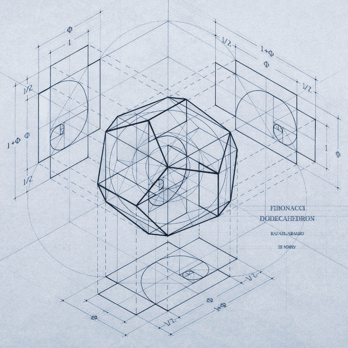 DODECAHEDRON I orgonion ion