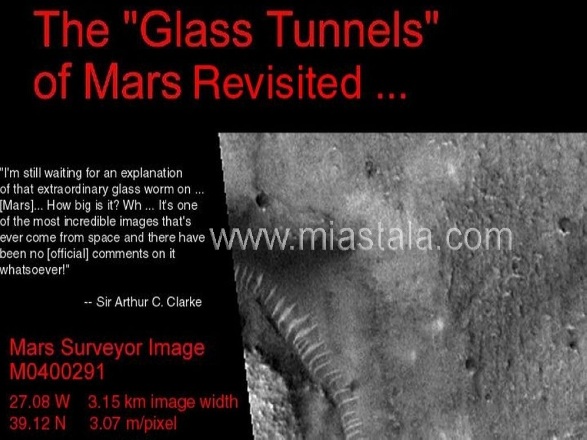 glass tunnels of mars klarck