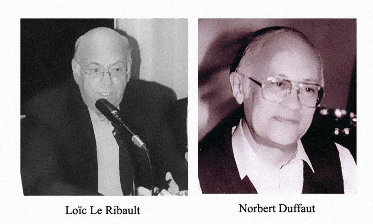 Dr. Loic Le Ribault + Norbert Duffaut